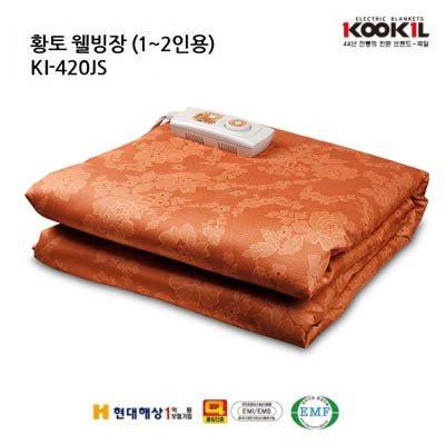 [DS]국일 황토 웰빙 싱글 전기장판 KI-420JS