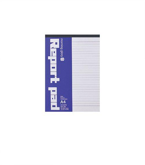 [BTS-DA][모닝글로리]1000 A4 레포트패드 (라인), 10권