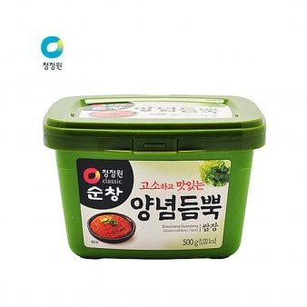 [청정원] 순창 양념듬뿍쌈장(사각) 500g
