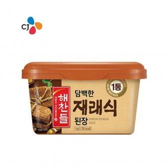 [해찬들] 재래식된장(P) 1kg