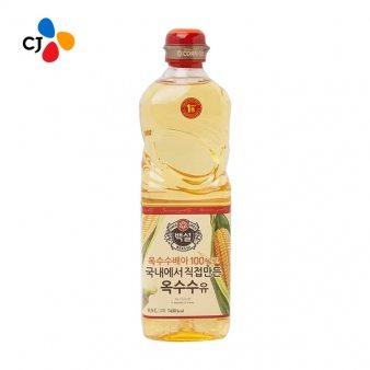 [CJ] 옥수수식용유 0.9L