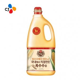 [CJ] 옥수수식용유 1.8L