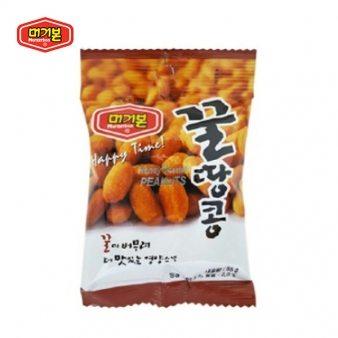 [머거본] 꿀땅콩 봉지 55g*12