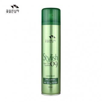 [꽃을든남자] 헤어스프레이(녹색 허브향) 300ml