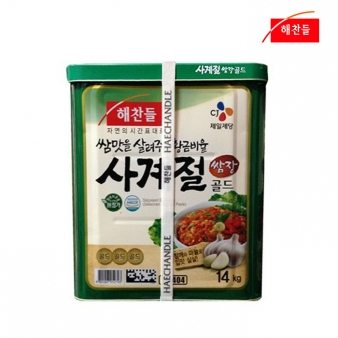 [해찬들] 사계절쌈장 14kg 업소용식자재 대용량식자재