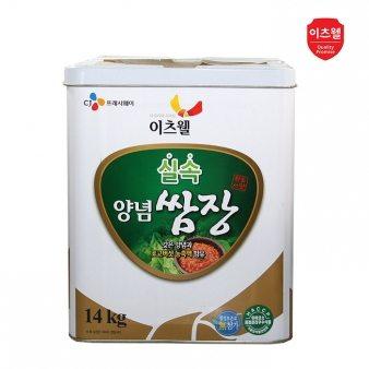 [이츠웰] 양념쌈장 14kg /업소용식자재/대용량식자재
