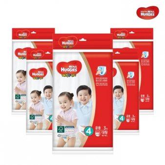 [하기스] 매직핏팬티4단계 대 공용 3매*30 기저귀 유아용품