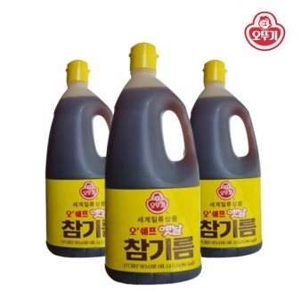 [오뚜기] 오쉐프 참기름 1.8L*6 /업소용식자재/대용량식자재