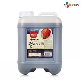 [CJ제일제당] 하선정 멸치액젓 9kg /업소용식자재/대용량식자재