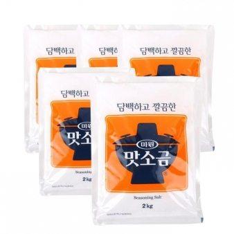 [대상] 맛소금 2kg*6 /업소용식자재/대용량식자재