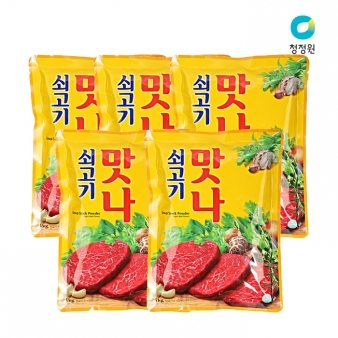 [청정원] 쇠고기 맛나 1kg*10 업소용식자재 대용량식자재
