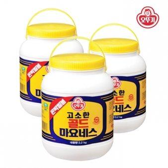 [오뚜기] 마요네즈(통)은박 3.2kg*4 업소용식자재 대용량식자재