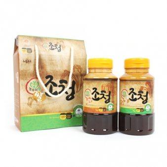 조청선물set (쌀+호박)1kg*2ea